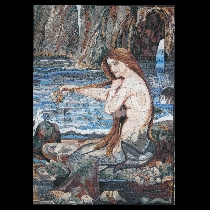 Mozaïek Waterhouse: Mermaid