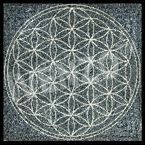 Mozaïek Flower of Life